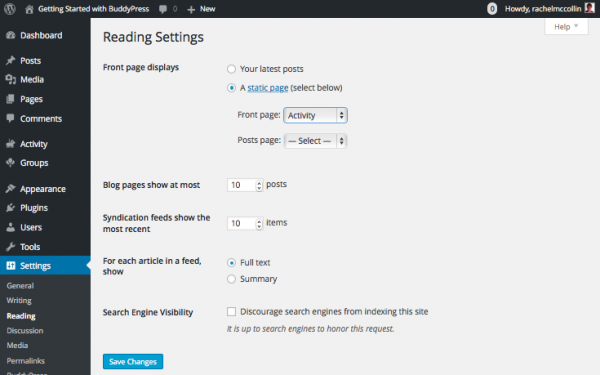buddypress-reading-settings
