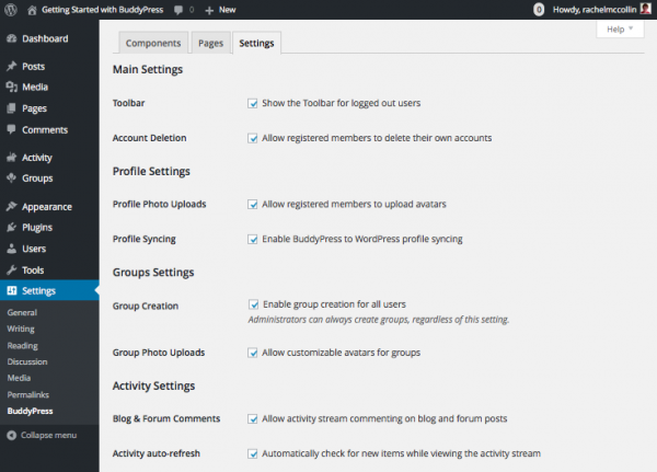 buddypress-settings