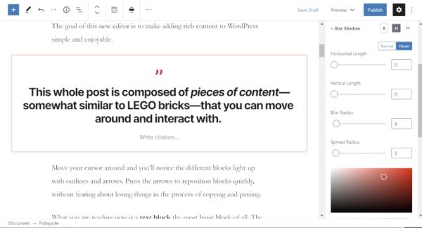 EditorPlus: плагин для управления дизайном блоков в WordPress
