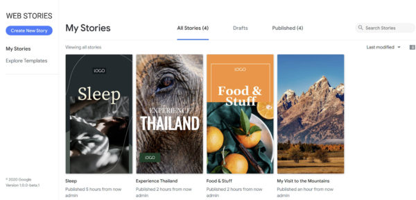Google запустили бета-версию плагина для публикации AMP-сториз в WordPress
